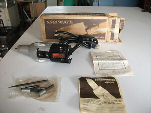 Vintage outil Power Screwdriver Shopmate Rocket fusée