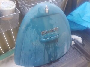 1966 vw beete rear deck lid. original paint