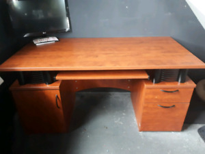 Big desk in good condition for sale.