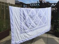 Double Bed Lilac Throw
