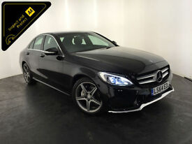 2014 64 MERCEDES-BENZ C220 AMG LINE BLUETEC AUTO DIESEL 1 OWNER FINANCE PX