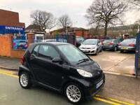 2010 Smart fortwo 1.0 (71bhp) Passion - AUTOMATIC! SAT NAV! BLACK!