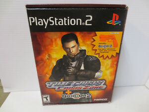 PS2 Playstation 2 Time Crisis Crisis Zone w/ Guncom2