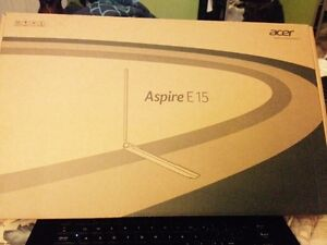Ordinateur acer model aspire E15 neuf  15.6 p