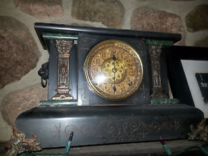 Antique WELCH Mantle Clock / Extremely Rare /