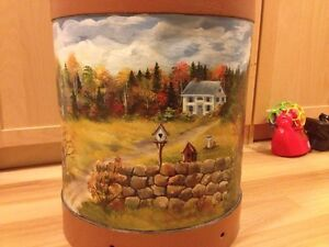 Antique Milk Can - painted by local artist Kitchener / Waterloo Kitchener Area image 2