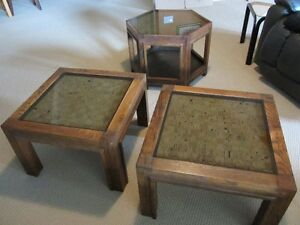 Ash Tables - Set of 3 - Reduced