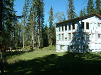 Beautiful house on a level 1 acre with southern exposure.