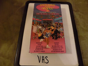 FUNNY GIFT: 3 SEALED RICHARD SIMMONS VHS WORKOUT VIDEOS & 2 USED London Ontario image 5