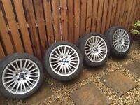 Bmw 3 series 225 run flat wheels and alloys
