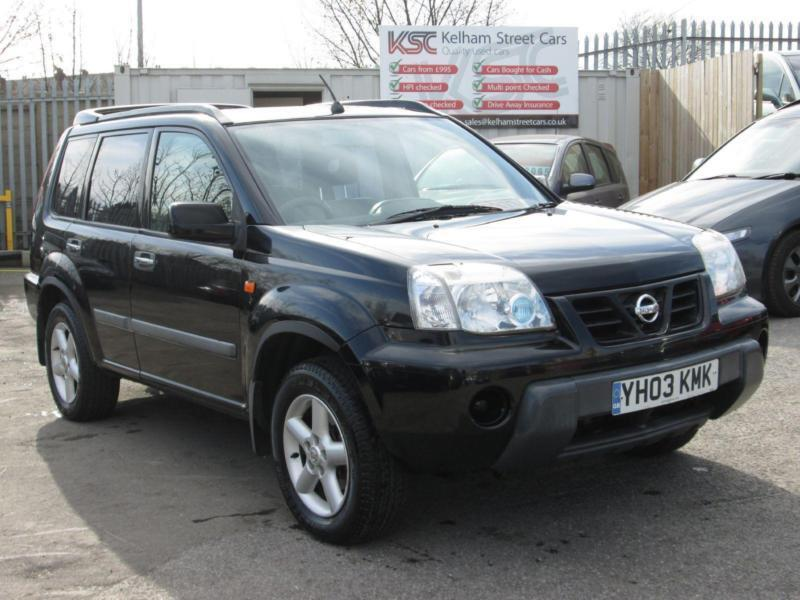 2003 nissan x trail 2 2 di sport in doncaster south yorkshire gumtree. Black Bedroom Furniture Sets. Home Design Ideas