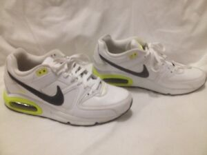 White Nike Air Max 'Command' Sneakers 41M (10ladies/8mens)