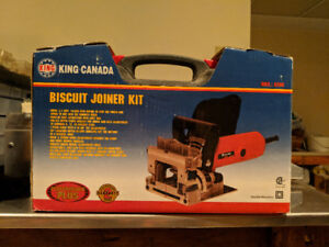 Biscuit Joiner , by King Canada, Model 8309 - brand new