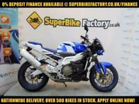 2009 09 APRILIA TUONO 1100CCV 0% DEPOSIT FINANCE AVAILABLE