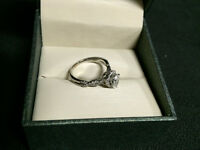 Mappins 0.75 Carat Diamond White Gold Engagement Ring