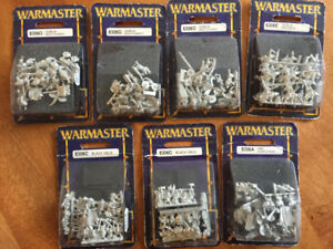 Warmaster Warhammer orc and goblin miniature lot