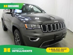 2018 Jeep Grand Cherokee Limited V6 4X4 Cuir Toit-Ouvrant Caméra