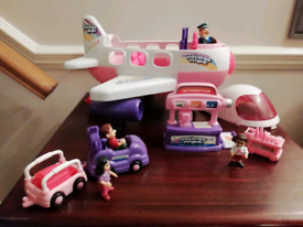 Holiday Jet and figures