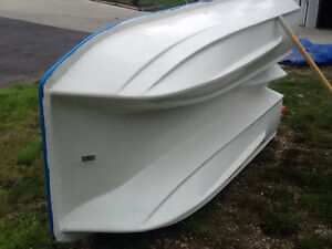 8' catamaran row boat with electric motor