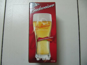 Budweiser Limited Edition 2010 Fifa World Cup Studs Glass New!