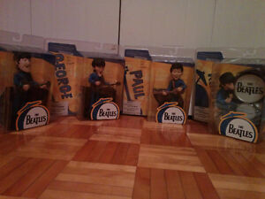 Ensemble de 4 figurines McFarlane des Beatles 2004