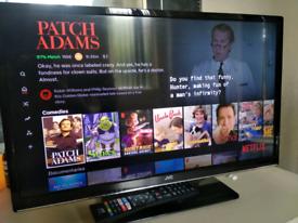 "24"" JVC HD Smart TV for sale"