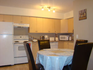 Fully furnished 2 bedroom condo in University Heights $1600