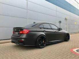 2016 16 reg BMW M3 3.0 DCT + SATIN MATT BLACK + MEGA SPEC + BODY KIT + CERAMICS