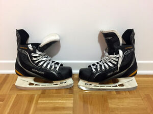 Patins de hockey Bauer (taille 8,5)