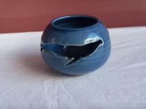 Kings Point Pottery tealight dish from Newfoundland/Labrador
