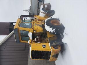 544 B John Deere loader