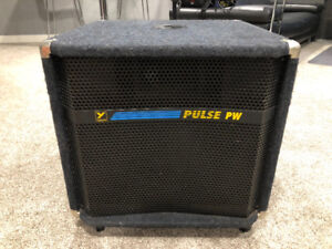 Yorkville Pulse PW 600W Powered Subwoofer