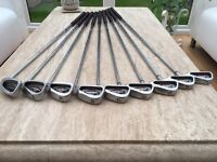 Callaway big Bertha irons golf clubs 3-SW Excellent condition. Titleist taylormade ping Mizuno
