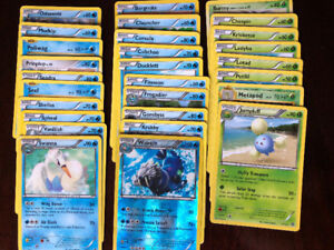 114 POKEMON CARDS, 6 HOLO, STRONG CARDS
