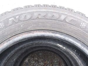4 X  GOODYEAR NORDIC WINTER TIRES