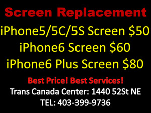 Trans Canada shop iphone screen Replacement (15 mins)