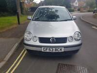 2003 Volkswagen Polo 1.4 Petrol Manual 5 Door Hatchback Silver 2 Keys