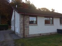 2 bed detached bungalow for rent