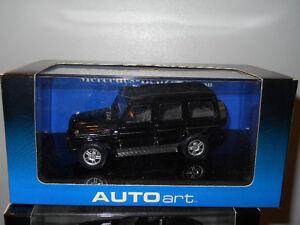 1/43 diecast Mercedes Benz G-Wagon LWB 80's-90's Black