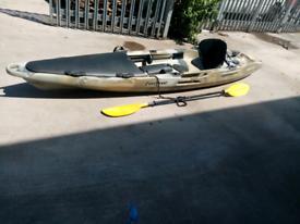 Moken 12 Sea Fishing Kayak with Seat, Paddle, buoyancy aid