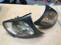 BMW E46 clear front repeaters