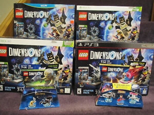 LEGO Dimensions Starter Packs - WiiU, XBox 360 & One,PS3