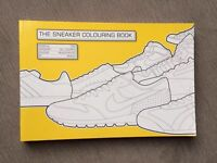 Trainer colouring book