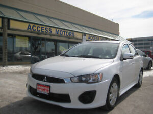 2017 Mitsubishi Lancer, Auto, ONLY 29K , Camera, BT, Extra Clean