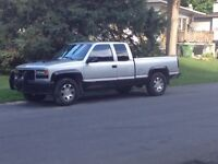 GMC Sierra V8 4X4 For Sale or Trade