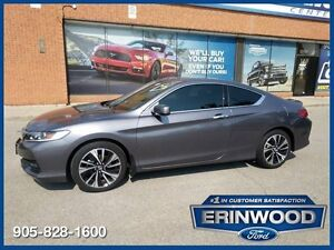 "2016 Honda Accord EXCoupe / Roof / RV Cam / Bluetooth / 18"" Whls"