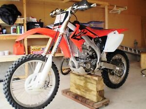 CRF450R set up for trail