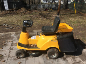 RECHARGE MOWER (RIDE ON LAWN MOWER)!