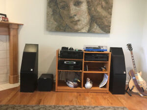 Audiophile stereo system