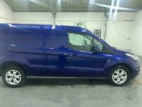 BLUE FORD TRANSIT CONNECT 1.6 240 LIMITED P/V DIESEL *BUY TODAY FROM £270 P/M*
